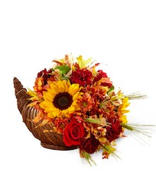 The FTD Fall Harvest Cornucopia - Bosland's Flower Shop
