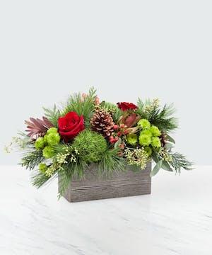 Christmas Cabin - Bosland's Flower Shop - Wayne, NJ Flower Delivery