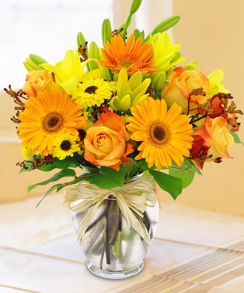 Field Picked Autumn Bouquet: Bursting with color - Delivered by ...