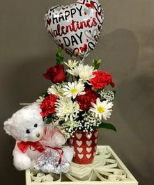 Valentine's Combo - Bosland's Flower Shop - Wayne, NJ Flower Delivery