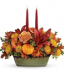 Teleflora's Country Oven Centerpiece - Bosland's Flower Shop