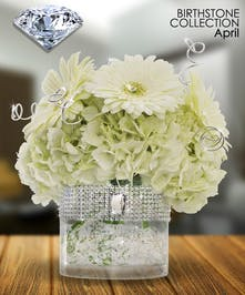 Diamond is the gemstone for April, a symbol of everlasting love