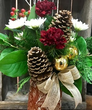 Snowman Days - Boslands Flower Shop