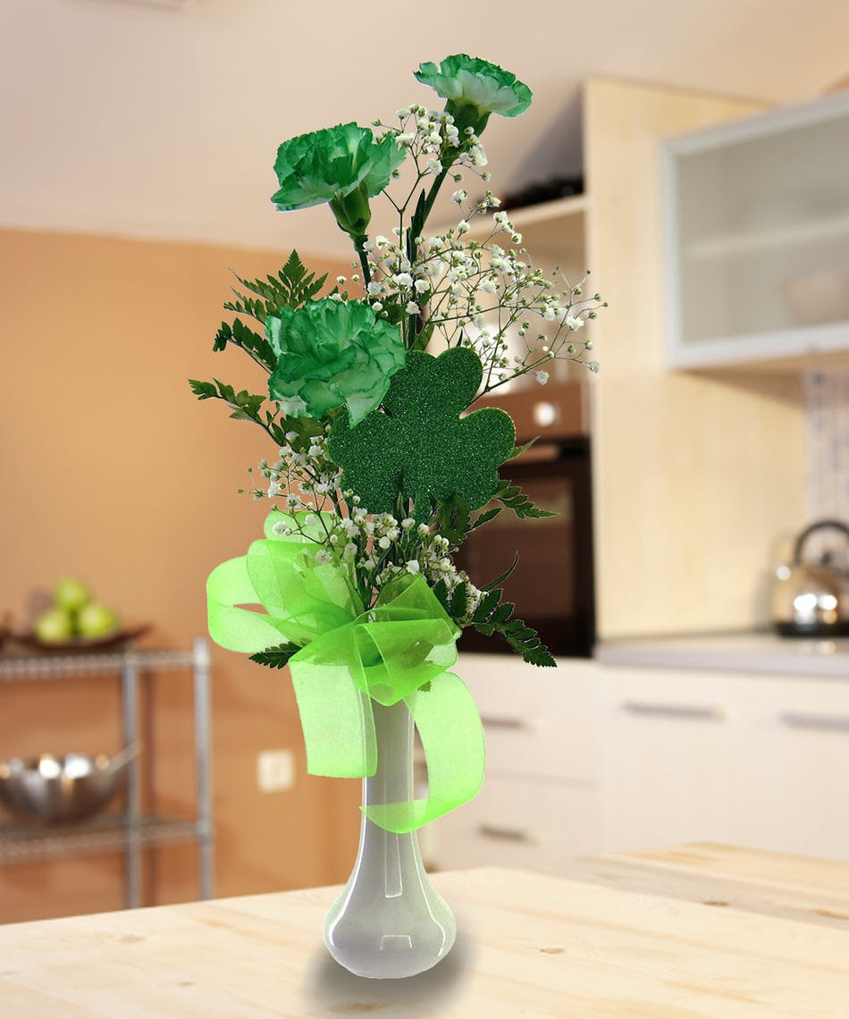 Touch o green a simple way to make sure irish eyes are smiling on touch o green a simple way to make sure irish eyes are smiling on st patricks day delivered by wayne nj florist bloslands flower shop izmirmasajfo