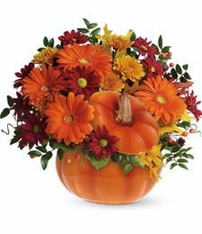 Teleflora's Country Pumpkin