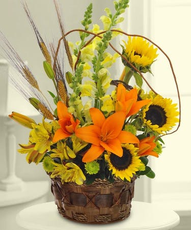 Thanksgiving Autumn Flowers Centerpieces Nj Bosland S Flowers